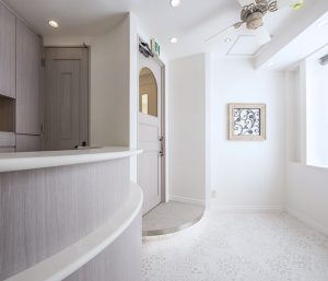 オーシーキューブ銀座待合室